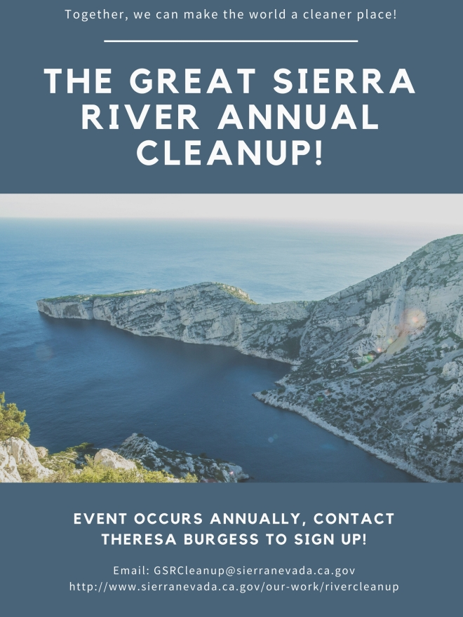 The great sierra river annual cleanup!